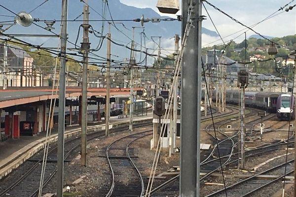 Gare de Chambéry, en Savoie