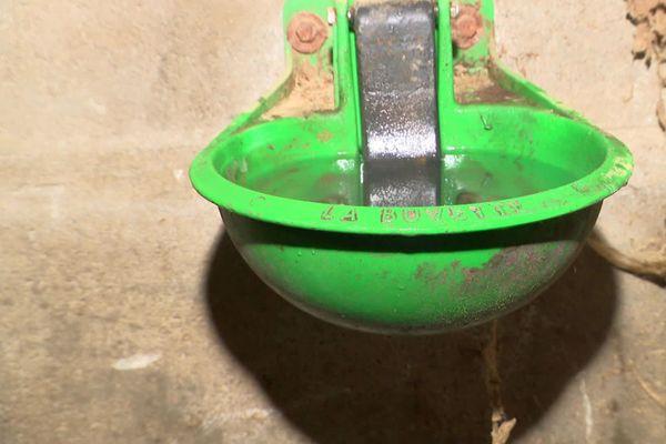 L'eau  des abreuvoirs étaient chargée d'électricité. D'où venait-elle ?