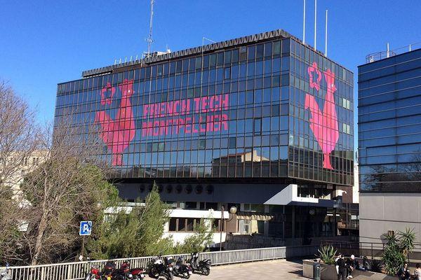 Montpellier - Le centre de la French Tech - février 2017.