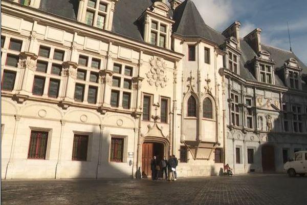 L'ancien Parlement du Dauphiné, à Grenoble.
