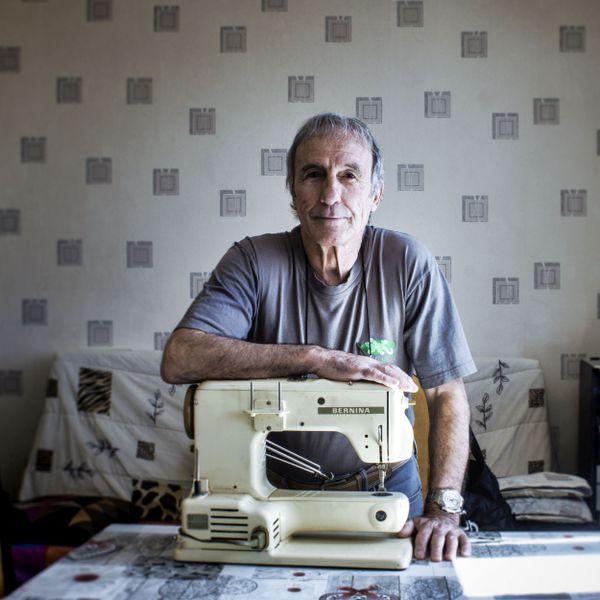 Richard, couturier solidaire de Besançon