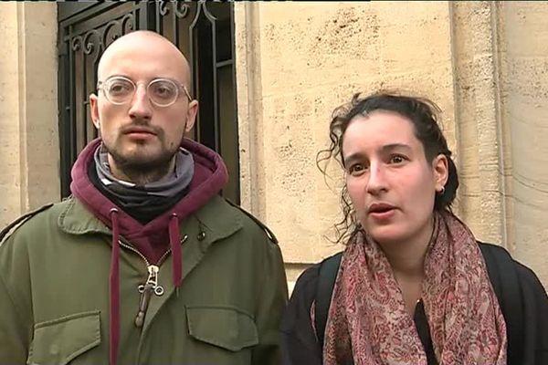 Juliette fait partie des étudiants qui ont voté le blocage de l'établissement.