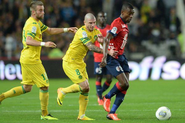 Lors de la première rencontre face à Lille en octobre.