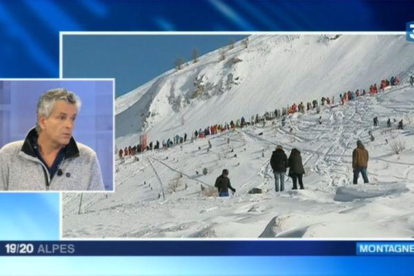 Dominique Létang, directeur de l'Association Nationale pour l'Étude de la Neige et des Avalanches (ANENA)