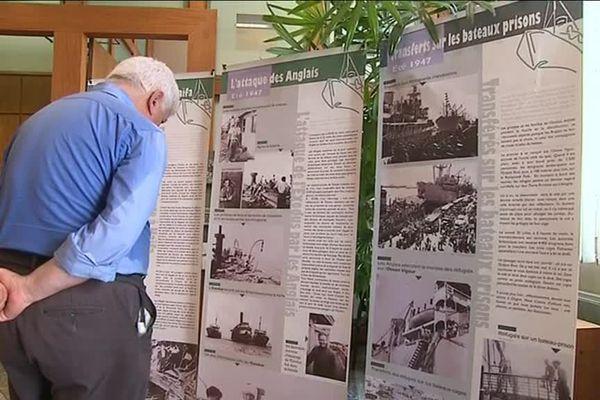 """L'exposition """"Exodus : une aventure humaine"""" se tient à Sète jusqu'au 9 juillet."""