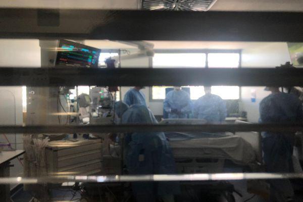 Quatre personnes en réanimation covid aux HUS le 28 juillet 2021