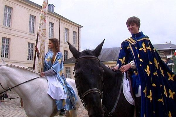 Présentation de Jeanne d'Arc et Charles VII