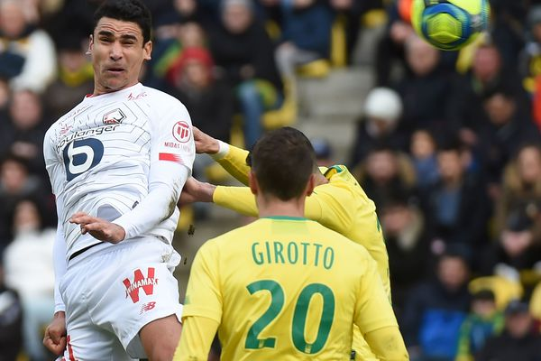 Benjamin André a marqué pour Lille à la 58ème minute de jeu.