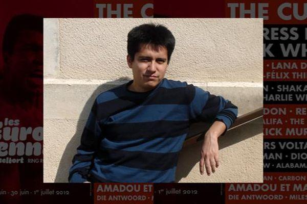 David Sanchez, fan de The Cure