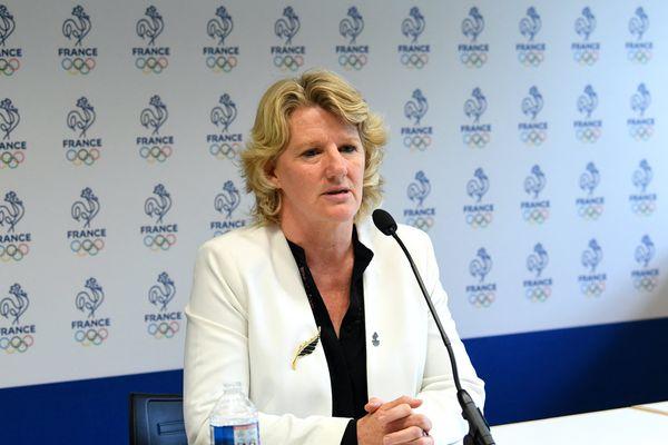 Brigitte Henriques est devenue la première femme à diriger le Comité national olympique et sportif français (CNOSF), le 29 juin 2021.