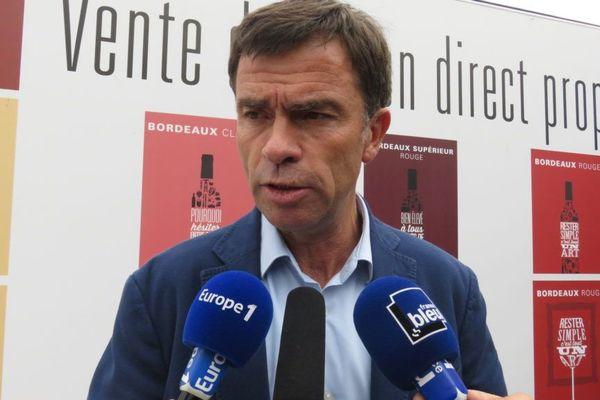 Bernard Farges, le Président du Conseil Interprofessionnel du Vin de Bordeaux