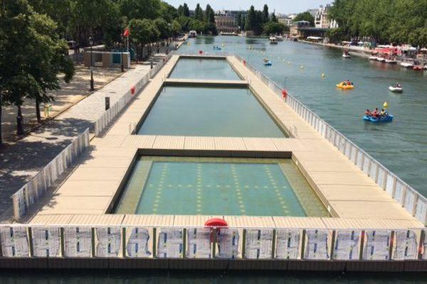 Un taux d'entérocoques supérieur à la norme a entraîné la fermeture lundi du bassin de baignade de la Villette.