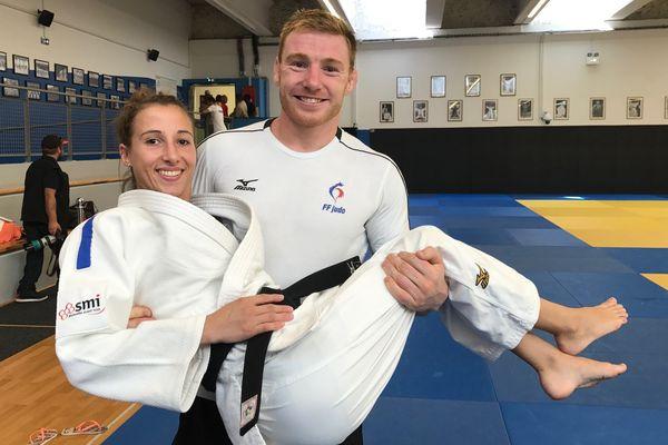 Les deux Haut-Marnais ont débuté au Marnaval club judo