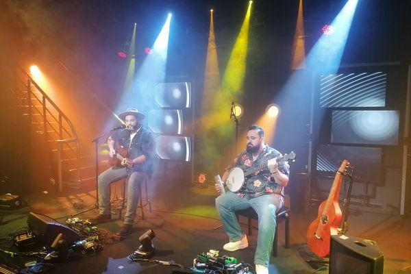 Franck & Damien, le duo folk et pop sur la scène de NoA pop
