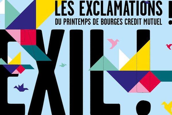 Les Exclamations, ce sont des conférences, expos, cycles cinéma autour d'un thème unique. Cette année, Exil !