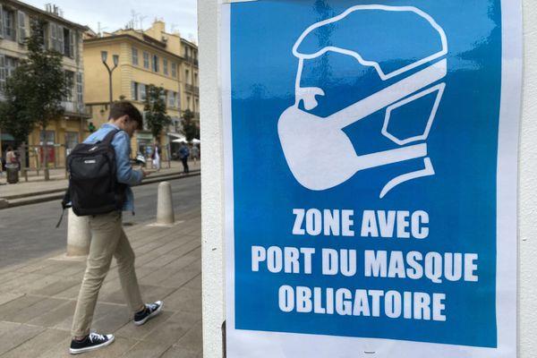 Image d'illustration, le port du masque devient obligatoire dans 5 communes de l'Yonne.