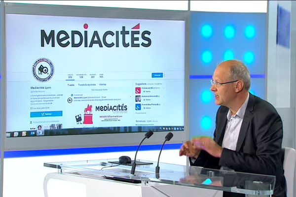 Jacques Trentesaux, ancien rédacteur en chef à l'Express, est l'un des fondateurs de Médiacités.