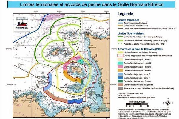 Limites territoriales et accords de pêche autour des îles anglo-normandes