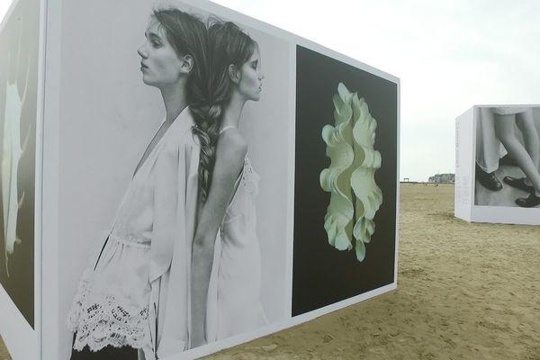 A Deauville, les immenses et magnifiques clichés du sud africain Koto Bolofo subliment la plage