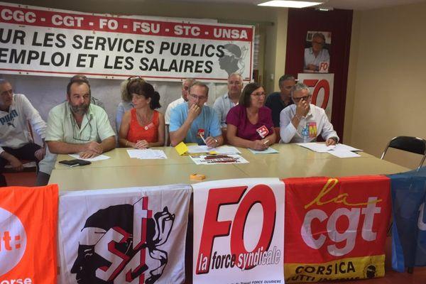 Fonction publique: mobilisation des syndicats mardi
