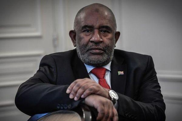 Le président Comorien actuel Azali Assoumani