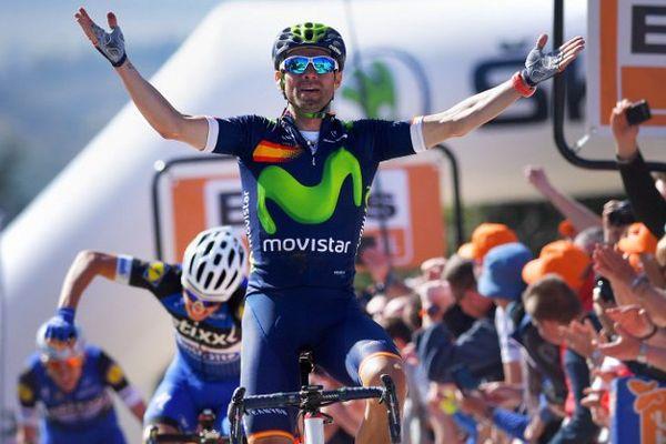 Valverde, vainqueur de la Flèche wallonne 2016.