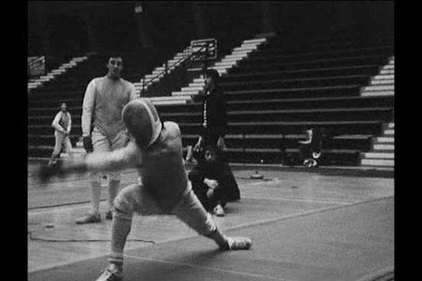 Escrime : au Palais des Sports d'Orléans en 1976