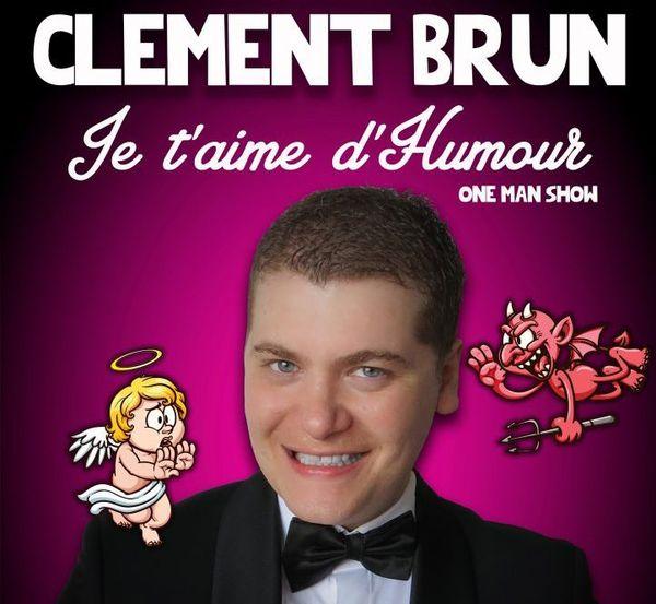 Clément Brun, humoriste antibois.