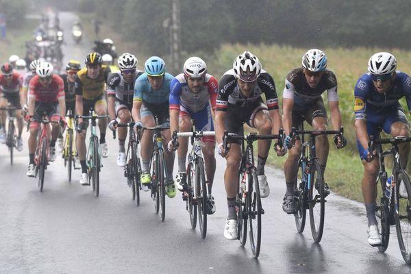 L'échappée sur le circuit final de Plouay lors de la Bretagne Classic Ouest-France (Grand Prix de Plouay) - 26/08/2018