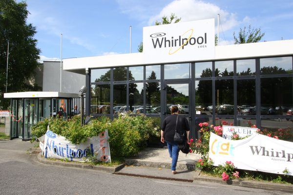 Le site de Whirlpool, à Amiens.