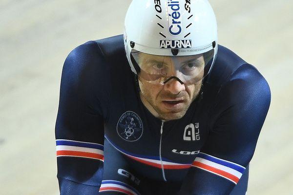 Le Mayennais François Pervis éliminé de l'épreuve de Keirin au Mondiaux de cyclisme