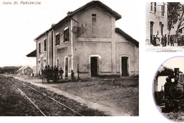 Gare de Padulella, située sur l'ancienne ligne de la Plaine Orientale.