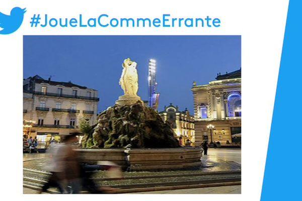 Cette photo de la place de la Comédie à Montpellier fait le buzz sur les réseaux sociaux. Une députée de Loire-Atlantique s'en est servie pour illustrer son annonce de candidature à l'investiture LREM à la mairie de... Nantes.