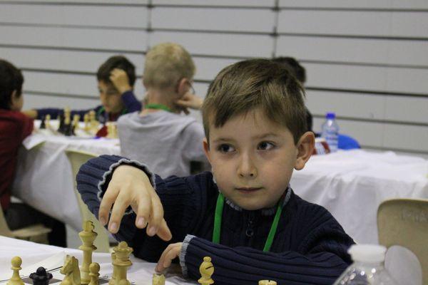 Durant le Championnat de France du jeu d'échecs des Jeunes 2018.