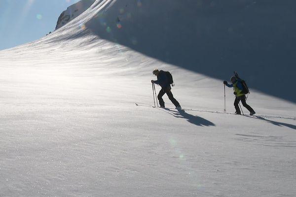Rencontre avec le guide de haute-montagne Georges Unia du côté italien du massif du Mont blanc.