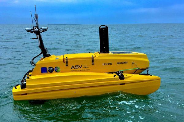 Le drone marin travaillera pour toutes les équipes de recherche de l'université de La Rochelle.