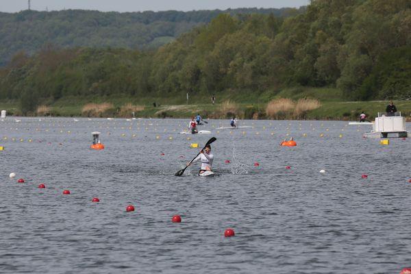 Sarah Guyot a remporté sa première finale en 41:84 sur le bassin de Mantes-la-Jolie