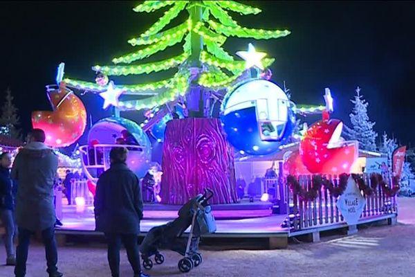 Le village de Noël au Barcarès, dans les Pyrénées Orientales