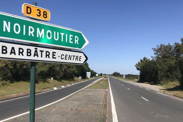 En Vendée, sur les routes des plages, le confinement a été respecté, il n'y a pas eu d'afflux de vacanciers.