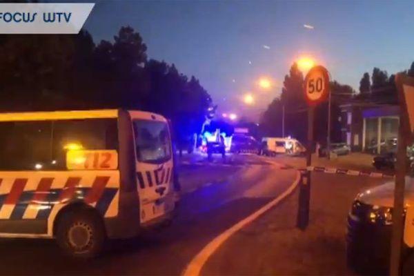 L'accident s'est produit Moeskroenstraat à Menin.