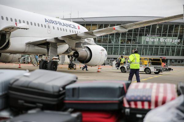 Un vol Air France a été dérouté vers l'aéroport de Brest pour raisons médicales (image d'illustration)