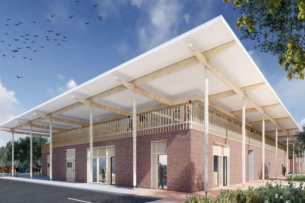 Le futur centre hospitalier universitaire vétérinaire équin