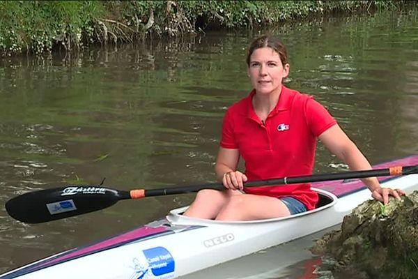 Claire Brenn cherche à financer sa participation au Jeux Olympiques de 2020.