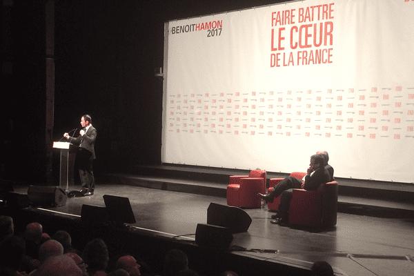 Meeting de Benoît Hamon en Creuse