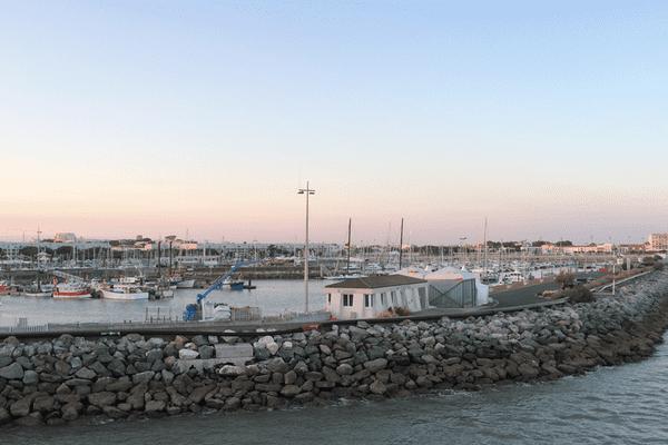 Port de pêche et de plaisance à Royan
