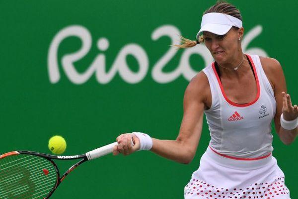 Kristina Mladenovic avait vertement critiqué sa fédération après son élimination en double à Rio.