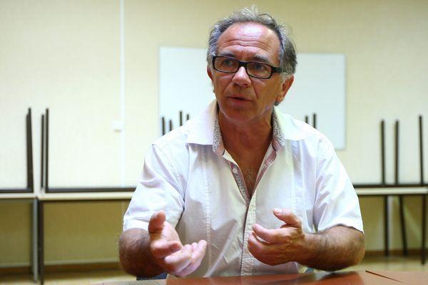 Eric Andrieu, secrétaire fédéral du PS de l'Aude et député européen sortant