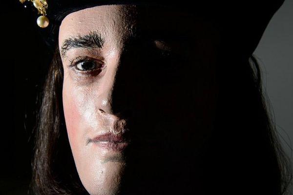 Reconstitution du visage de Richard III effectuée à partir de son crâne retrouvé en 2012.