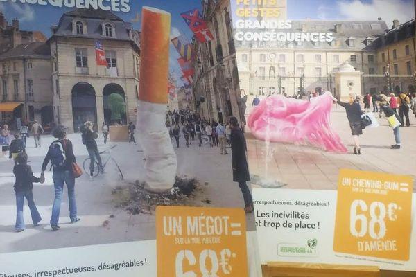 Les habitants qui jettent leurs déchets dans la rue devront maintenant s'acquitter d'une amende de 68€ à partir de ce mardi 28 mars 2017