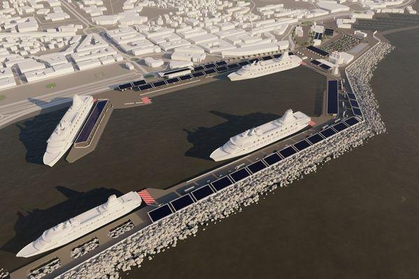 Le projet d'électrification du port de Bastia compte quatre bornes.